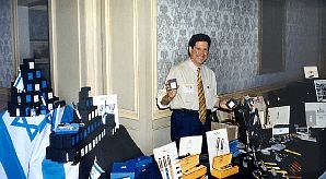1998 Fountain Pen Supershow at the Ritz in Tyson's Corner  Theme Pen: Israel 50